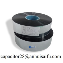 Aluminum metalized polypropylene film capacitor grade